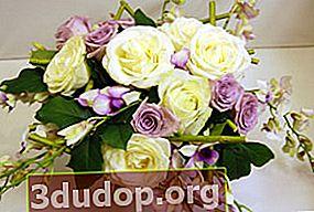 Bouquet untuk seorang lelaki
