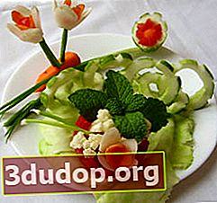 Decoratiuni vegetale simple
