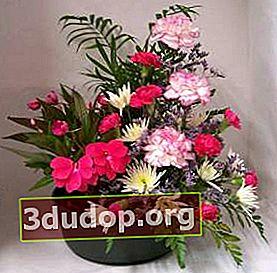 Pot-e-fleur atau pot bunga