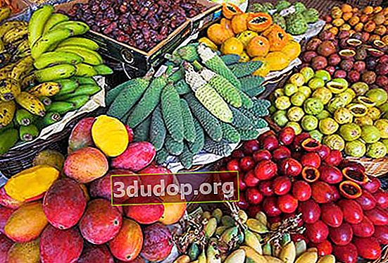 Riktiga grönsaker och frukter ... från Portugal