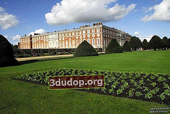 """Fem århundraden av Hampton Court: dammarna till Henry VIII, engelska Holland, """"London Garden"""""""