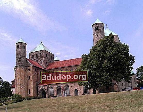 Rumpun mawar milenial Hildesheim