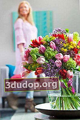 Bouquet musim bunga untuk kekasih anda: panduan untuk lelaki