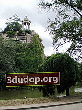 Buttes-Chaumont - en parisisk park som ingick i rysk historia