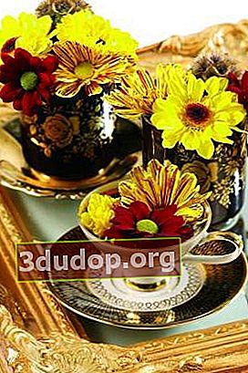Bouquets musim luruh adalah penawar terbaik untuk blues musim luruh